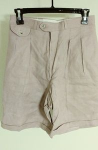 Vintage J Crew Outfitters Pleated Shorts